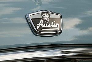 Hood ornaments of Austin Mini Cooper Mark II