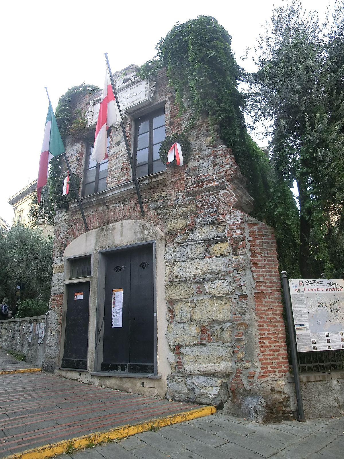 Casa di Cristoforo Colombo Genova  Wikipedia