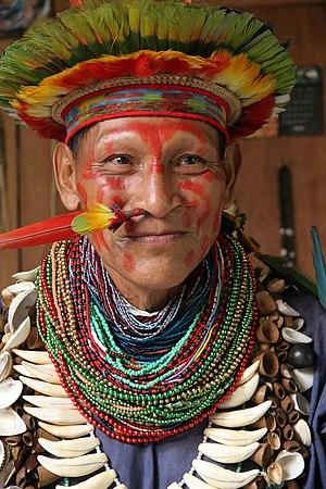 chaman forêt amazonienne equatorienne juin 2006