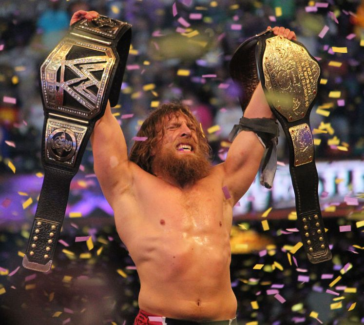 1008px Daniel Bryan WWE Champion - Celebrating Daniel Bryan's Return With His Best WWE Moments