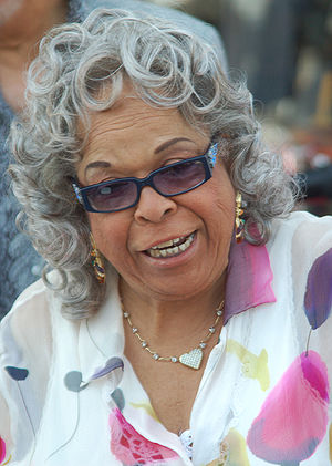 Della Reese at a Hollywood Walk of Fame ceremo...
