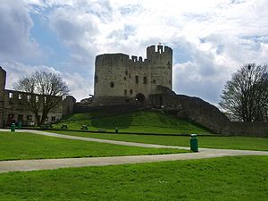 Dudley Castle, West Midlands, England.