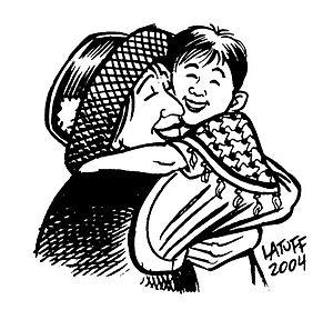 """""""Forgiveness 3"""" by Carlos Latuff."""