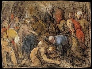 Jacopo da Ponte - The Betrayal of Christ - WGA...