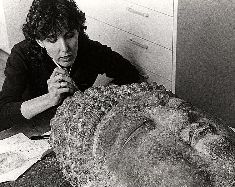 File:Jane Norman repairing artifact.jpg