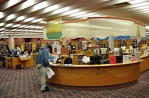 English: Reference Desk, North York Central Li...