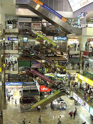 Inside of Pantip Plaza, Bangkok