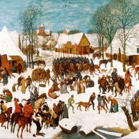 """Massacre of the Innocents"" by Pieter Bruegel the Elder"