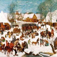 """""""Massacre of the Innocents"""" by Pieter Bruegel the Elder"""