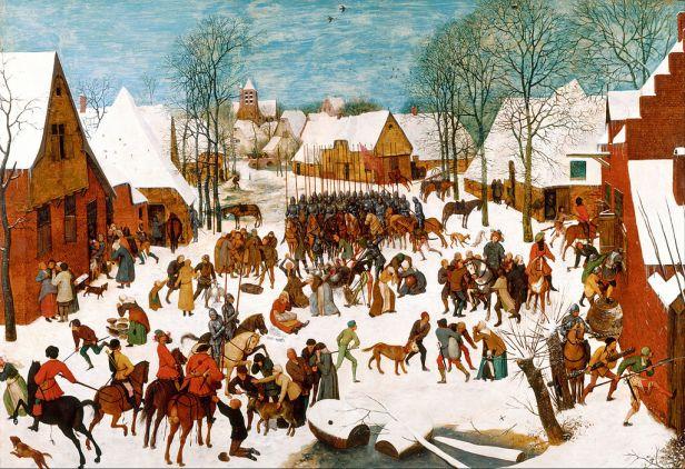 Pieter Bruegel the Elder - Massacre of the Innocents - Google Art Project