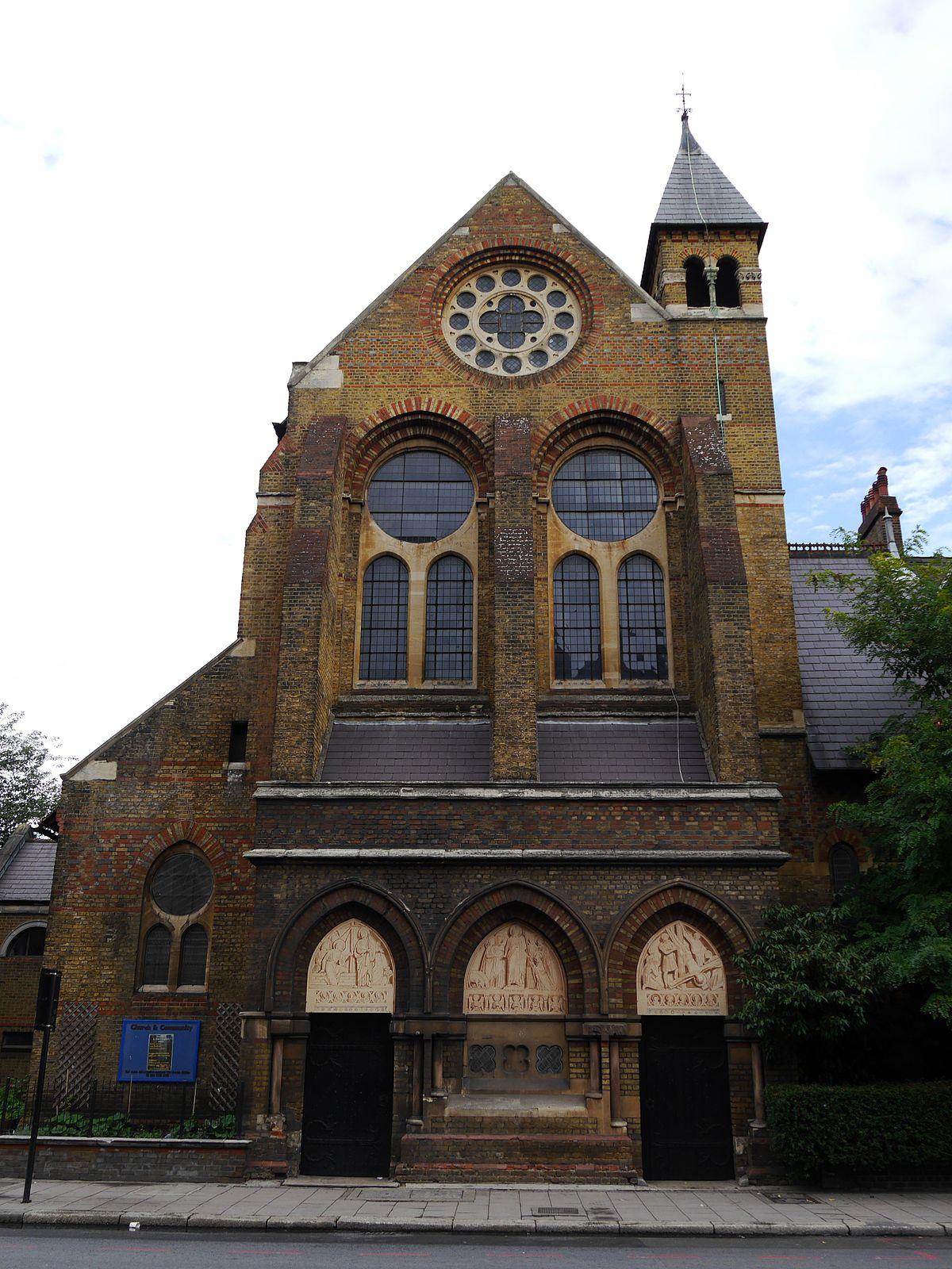 St Peters Church Vauxhall  Wikipedia