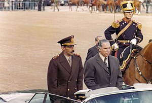 Argentine dictator Jorge Rafael Videla at the ...