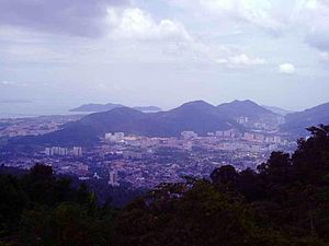 English: View from Penang Hill.