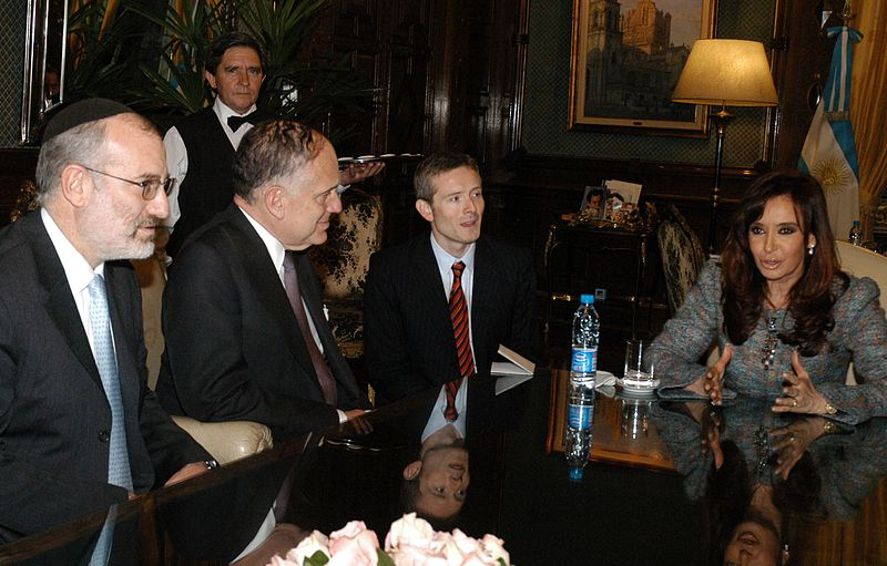 File:WJC meeting with Argentine President Cristina Kirchner.jpg