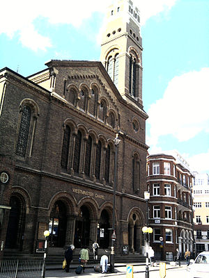 English: Westminster chapel