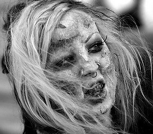 Zombie Walk in Edmonton