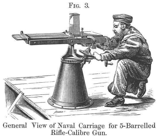 File:5-BarrelNordenfeltRifleCalibreGunNavalCarriage.jpg