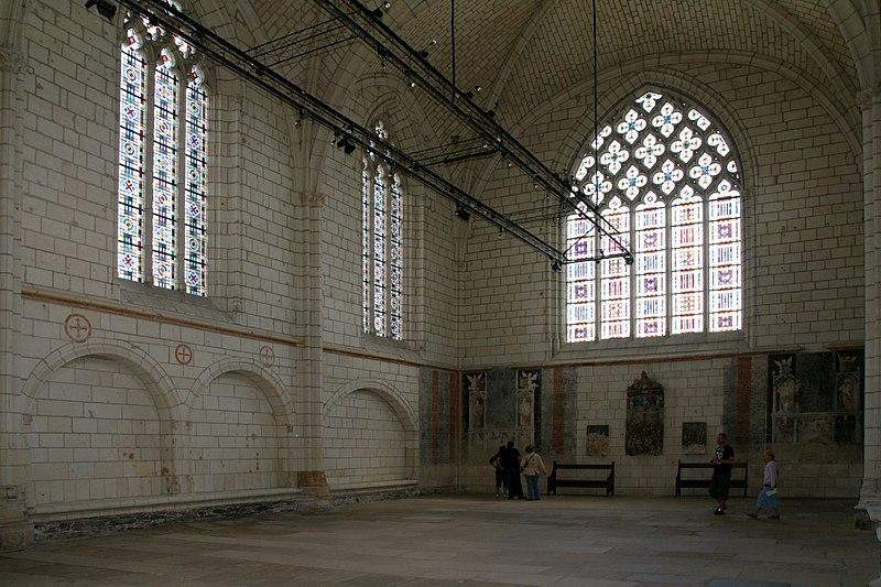 Angers - Chateau - Interieur de la chapelle