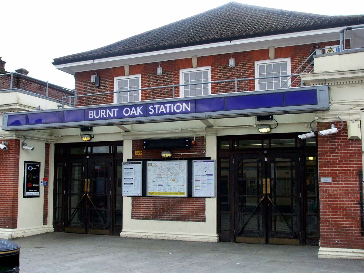 Burnt Oak Tube Station Wikipedia