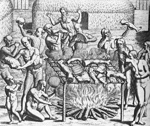 Canibalismo humano no Brasil em 1557, segundo a descrição de Hans Staden