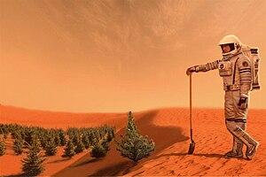 English: Coloniazation of Mars