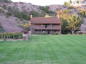 English: Jacob Hamblin home in Santa Clara, Ut...