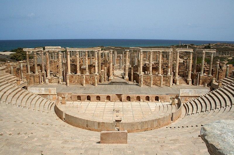 File:Leptis Magna Theatre.jpg