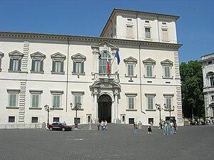 Italiano: Palazzo del Quirinale.