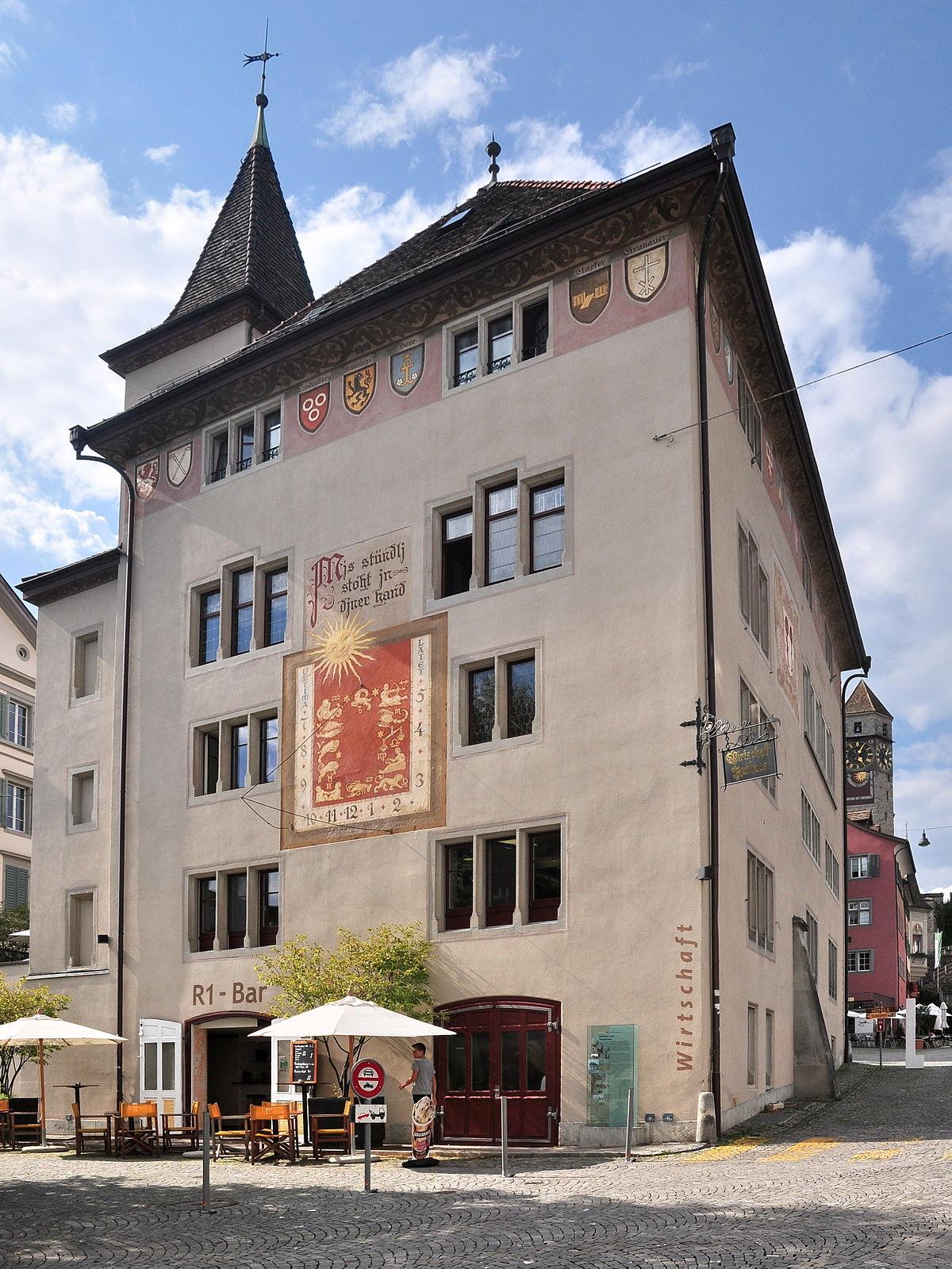 Rathaus Rapperswil  Wikipedia