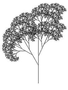 Tree created using the Logo programming language and