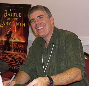 Rick Riordan at the 2007 Texas Book Festival, ...