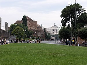 Roma-via dei fori imperiali