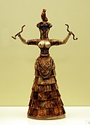 Snake Goddess - Heraklion Achaeological Museum retouched