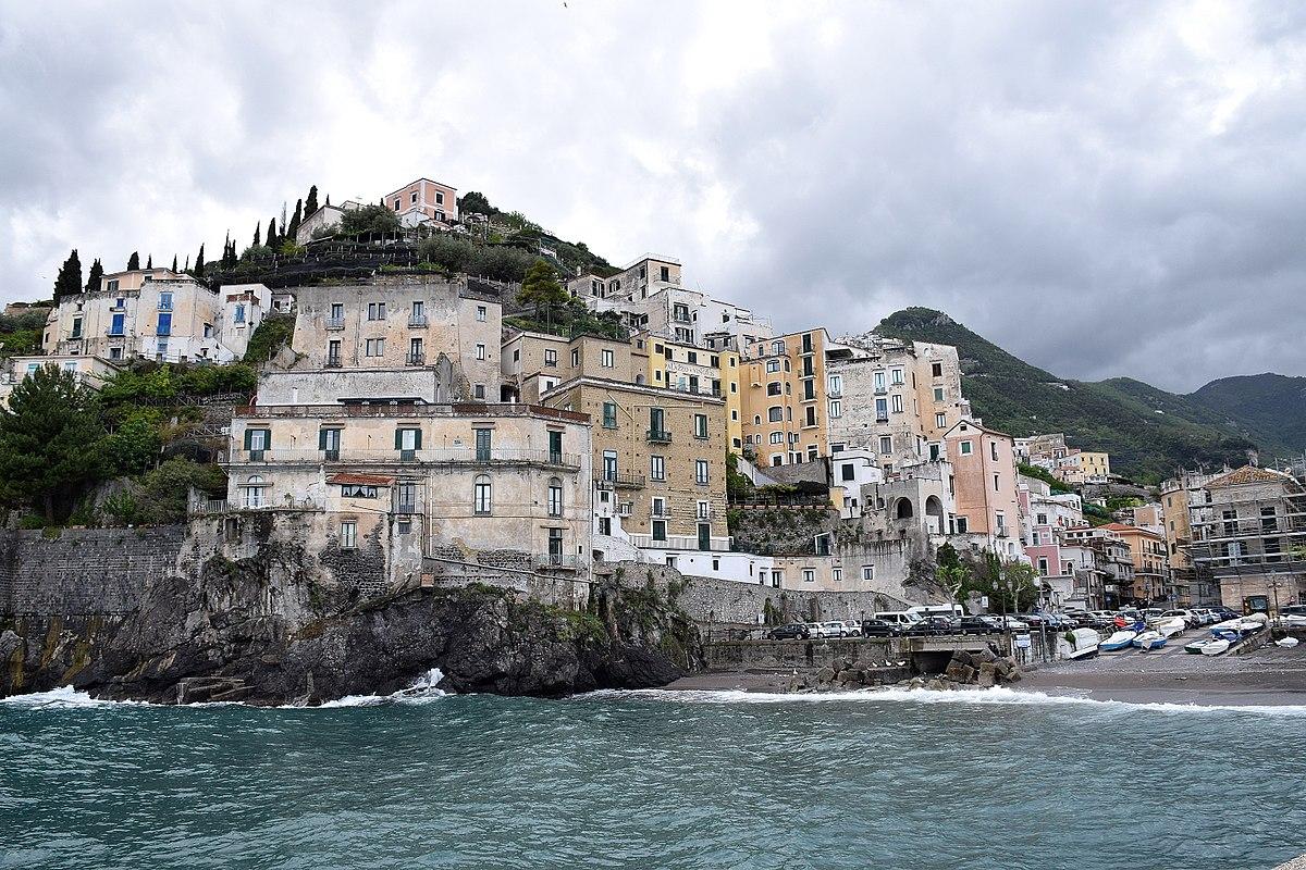 Italy Region Campania