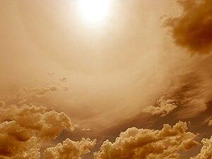 Sun & Clouds. Portland, Oregon.