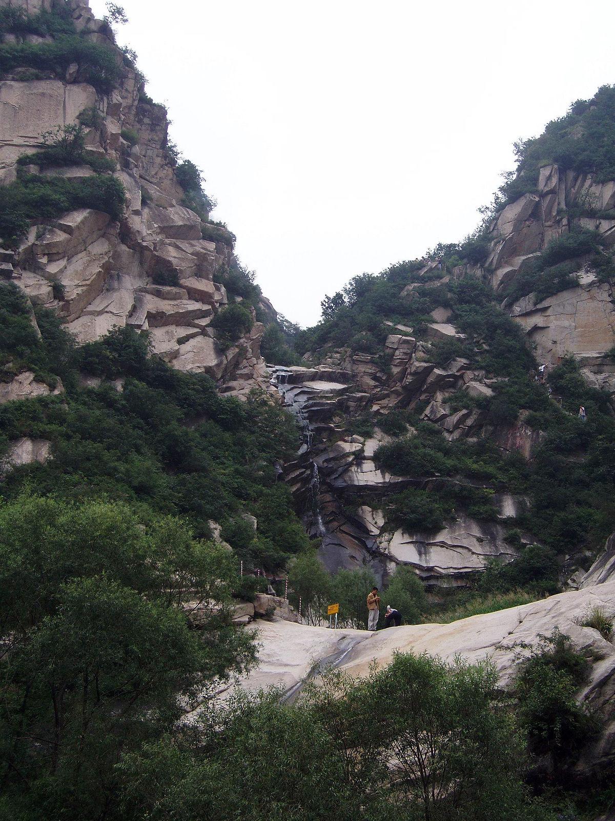 Taihang Shan Mountains  Wikimedia Commons