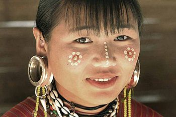 A Burmese refugee in Thailand. From Big Ear Ka...