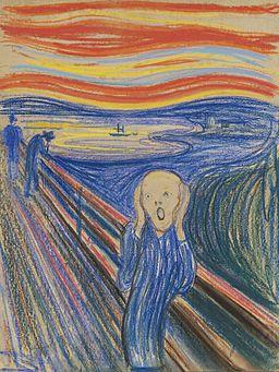 The Scream Pastel