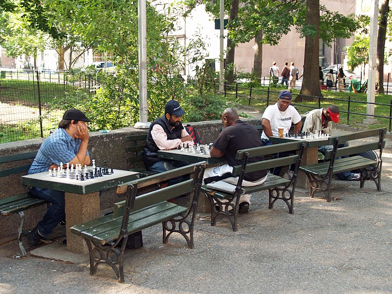 Washington Square Park Chess Players by David Shankbone.jpg