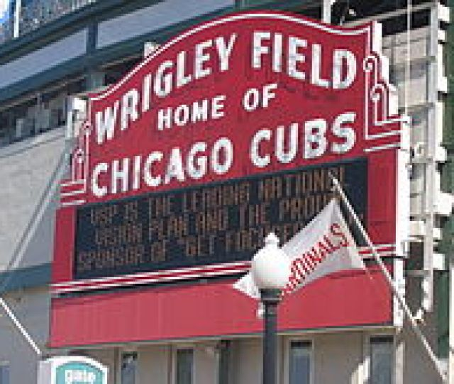 Wrigley Field And The Cubs Play Host To The Rival St Louis Cardinals   Times A Season