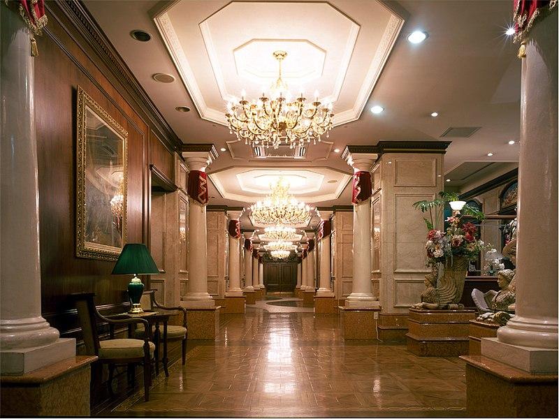 File:広島グランドインテリジェントホテル ロビー.jpg - Wikimedia Commons