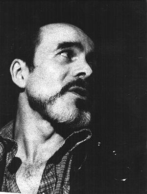 Abelardo Castillo´s portrait, argentine writer.