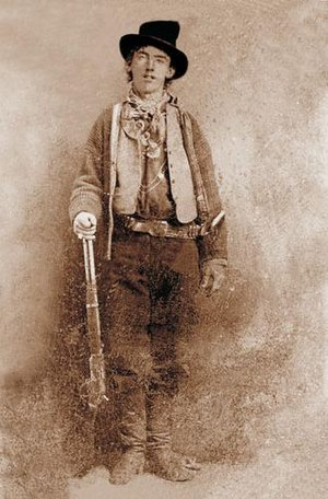 Billy the Kid (1860 – 1881).