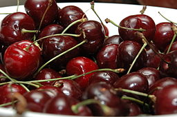 Bowl of red Cherries
