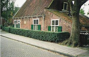 Spinoza's house in Rijnsburg from 1661-3, now ...