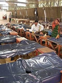 Cholera hospital in Dhaka