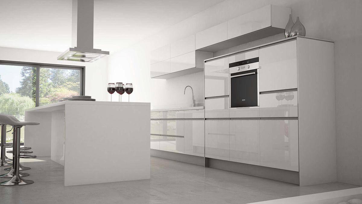 meuble rideau cuisine aluminium
