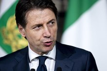 Giuseppe Conte in May 2018