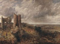 File:John Constable - Hadleigh Castle, The Mouth of the ...