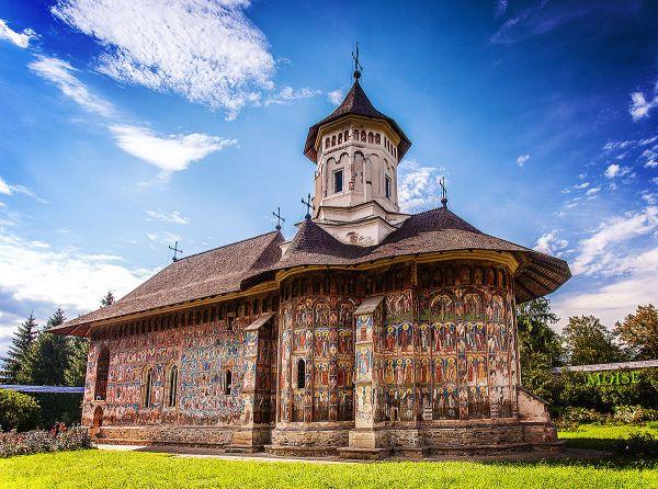 Painted Monastery Romania